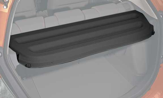 Awesome New Genuine Honda Fit Black Cargo Cover Rear Shelf 2017 To 2018 08u35 T5a 100