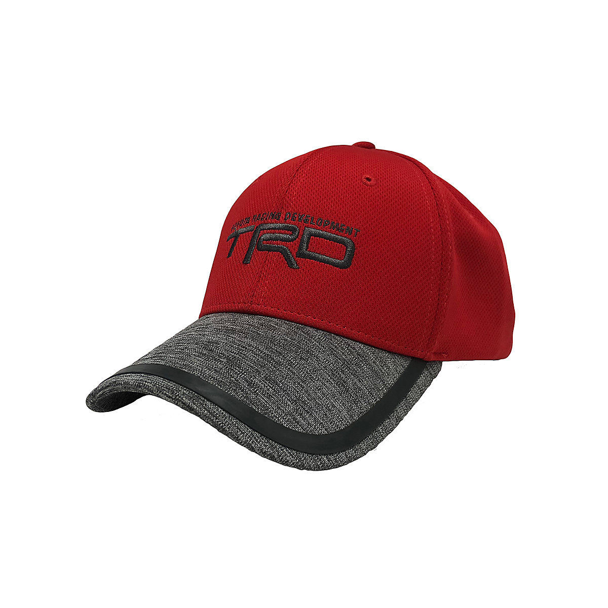 5ab3057d7c0 Awesome Toyota TRD Red and Gray Jersey Polyester Hat 2018-2019 ...