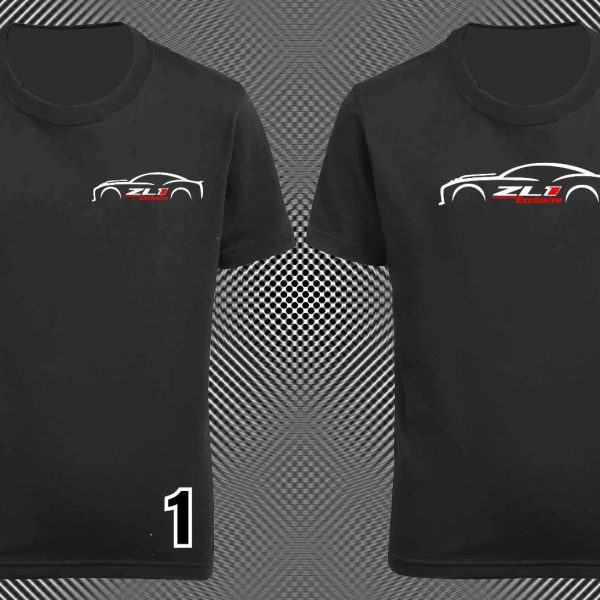 Great Zl1 Exclusive Black Graphic T Shirt Tee Chevy