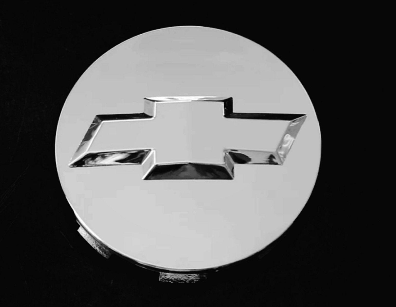 """4PC 2007-2013 Chevrolet 3.25/"""" Chrome Center Caps For 18/"""" 20/"""" 22/"""" Wheels#9596403"""