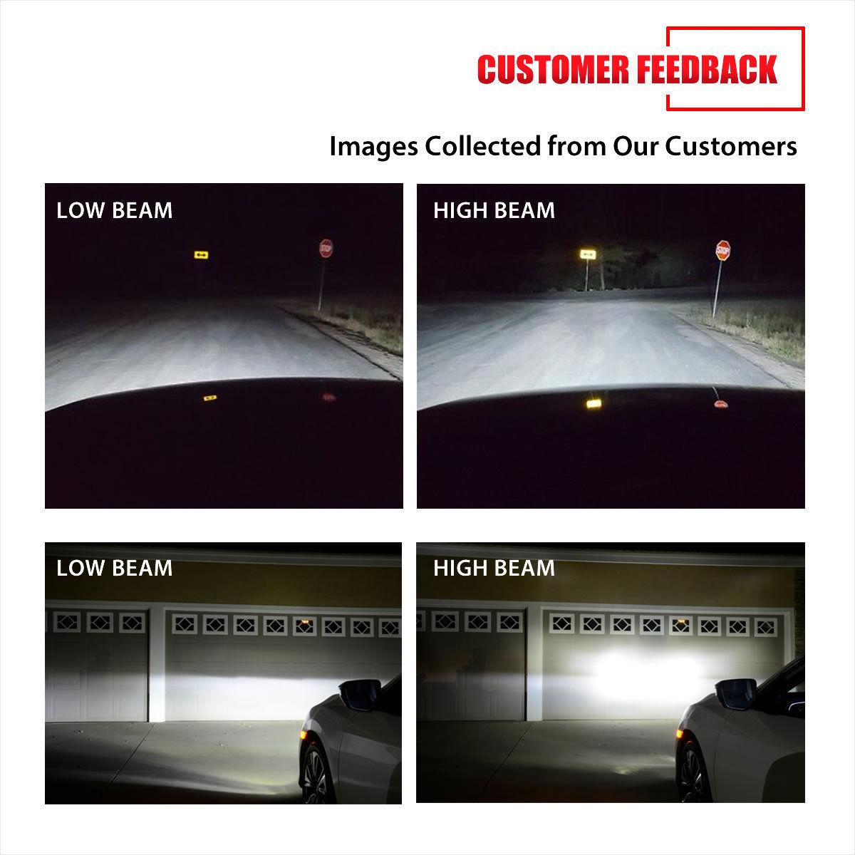 Awesome H13 Led Headlight Bulbs For Dodge Ram 1500 2500 3500 2006 2012 Break Lights High Low Beam Kit 2017 2018