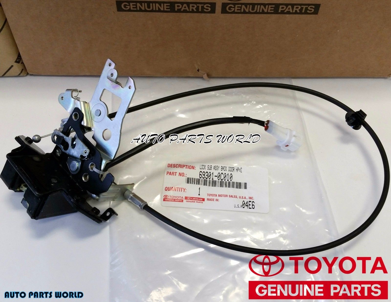 Amazing New Toyota Oem 2001 2007 Sequoia Rear Tailgate Lift Gate Lifted Item Specifics