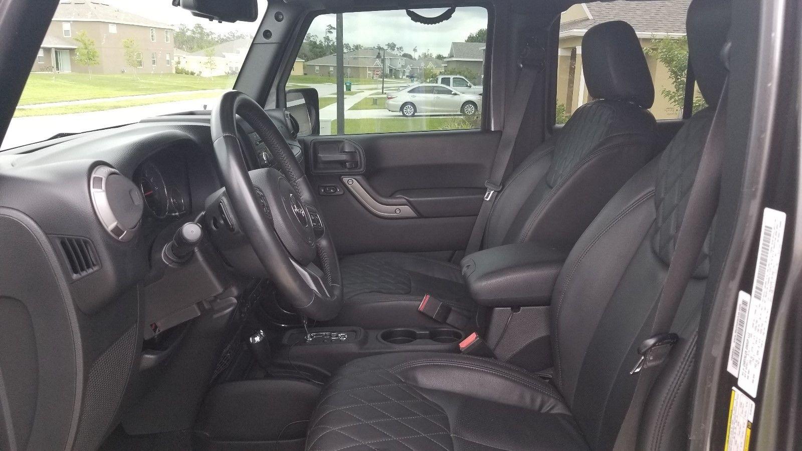 Great 2014 Jeep Wrangler Unlimited Sport 35 Lift Fox Shocks 37inch Jk Leather Seats Nitto 488 Gears Jw Speaker 15k Invested 2017 2018
