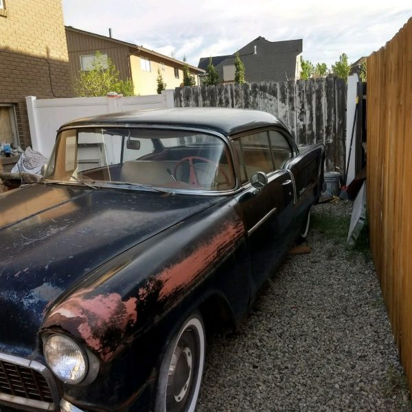 Awesome 1955 Chevrolet Bel Air150210 1955 Chevy Bel Air 2dr Black