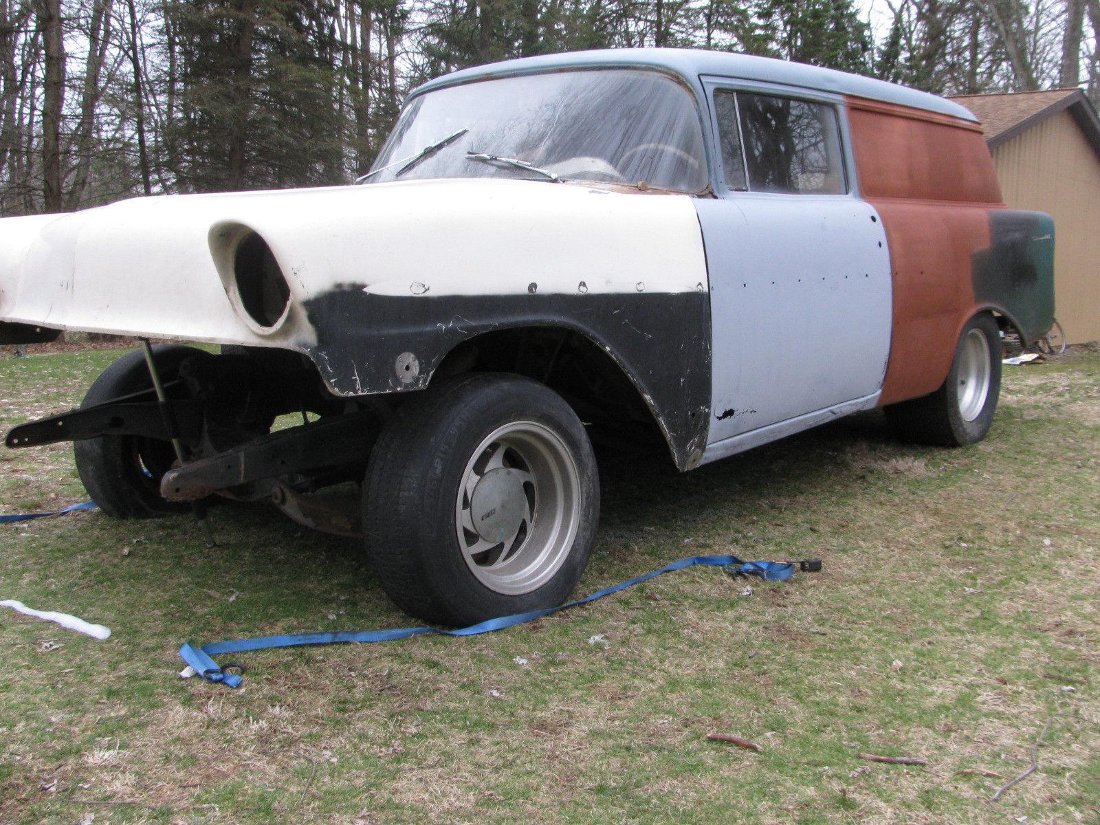 Amazing 1956 Chevrolet Bel Air/150/210 56 Chevy Sedan Delivery Project –  Gasser – Drag Race -Rat Rod – NHRA Nostalgia 2018-2019