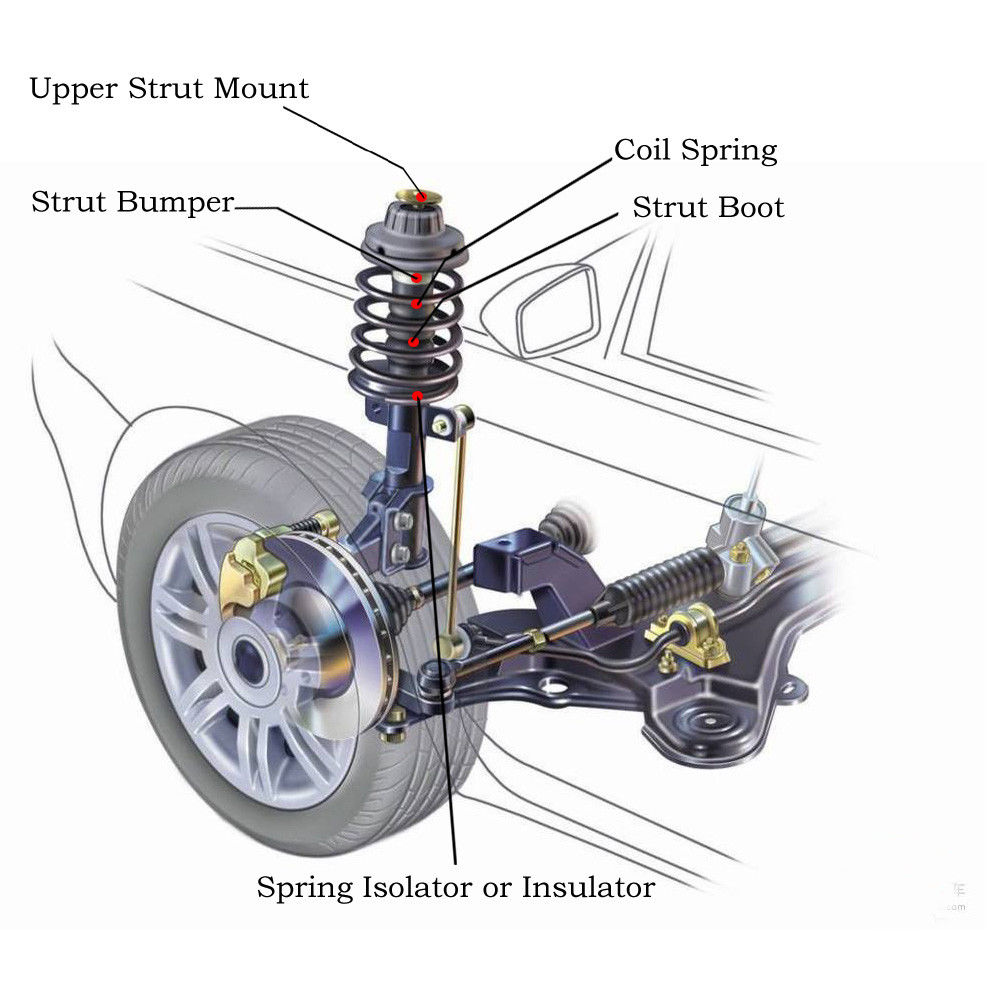 Amazing Quick Complete Struts Assembly Shocks for 2003 ...