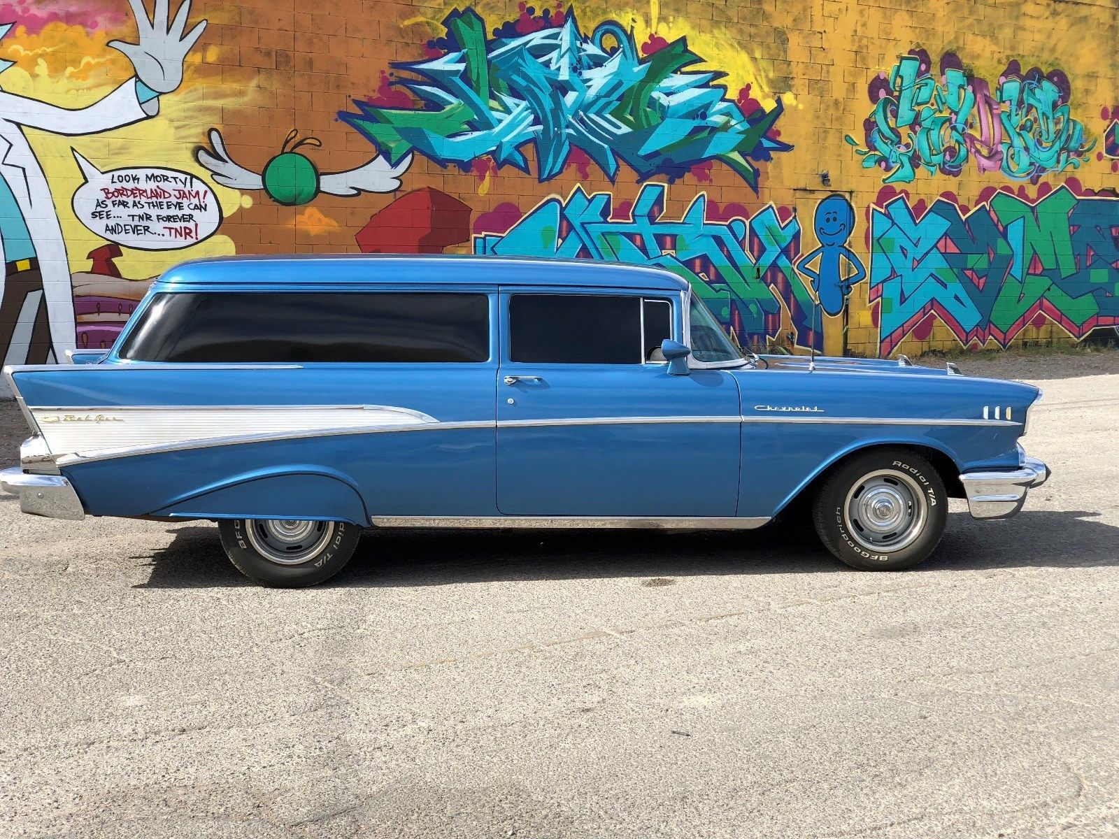 Great 1957 Chevrolet Bel Air/150/210 1957 chevy sedan delivery, nomad like,  resto mod, hot rod, a/c, power steering, 2018-2019