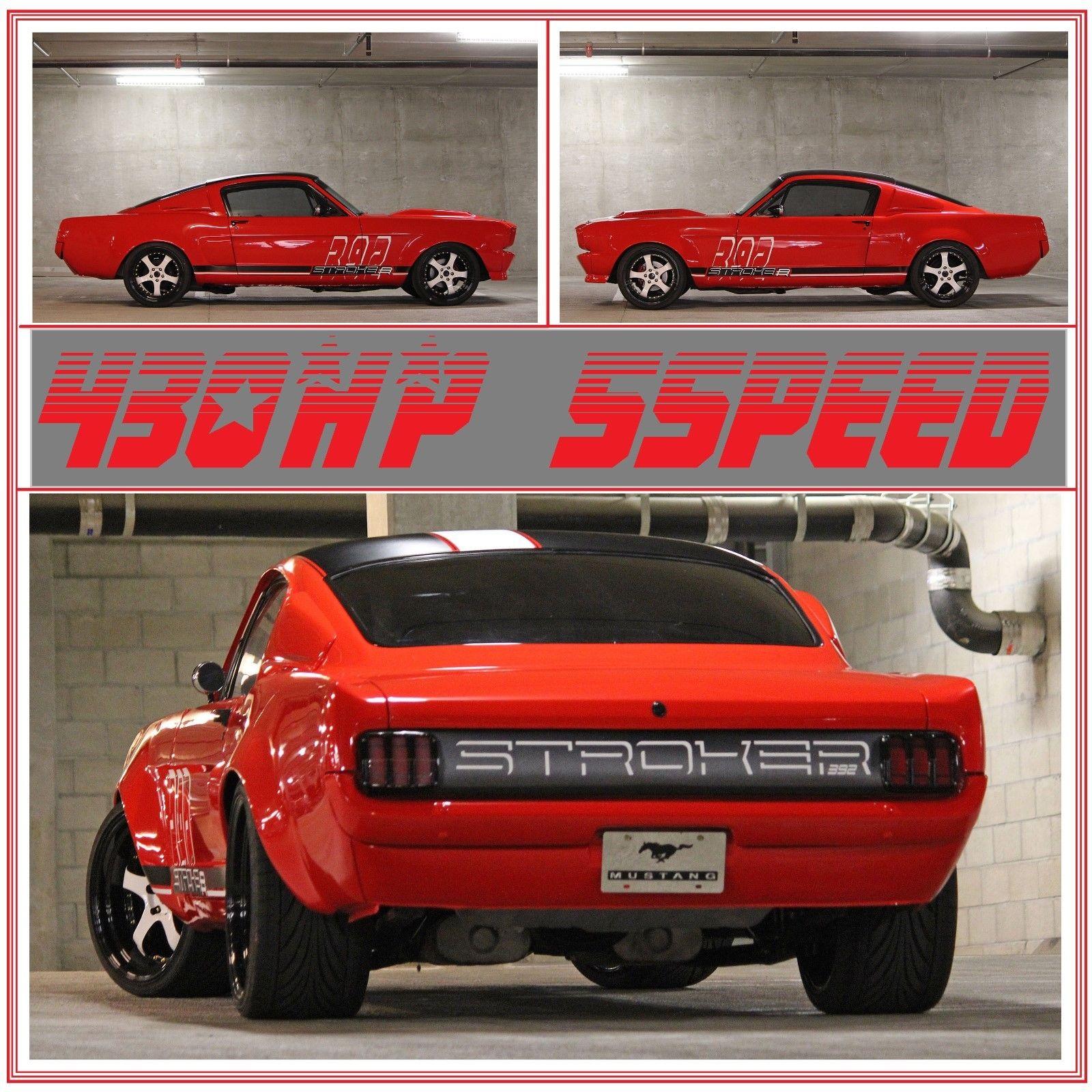 1965 Ford Mustang 1965 MUSTANG FASTBACK WIDEBODY 2019