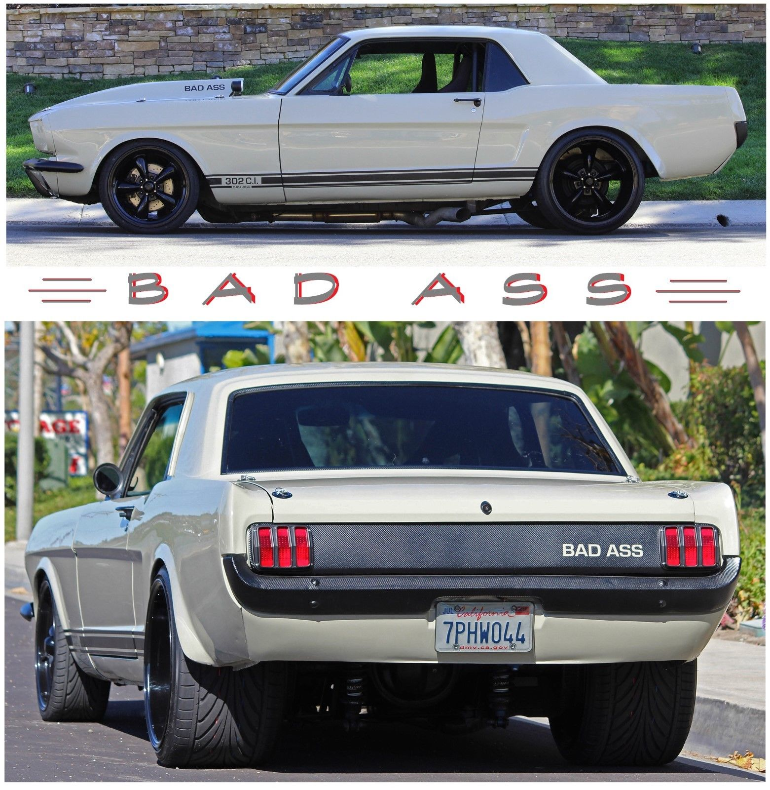 Great 1965 Ford Mustang Protouring 1965 Mustang Restomod