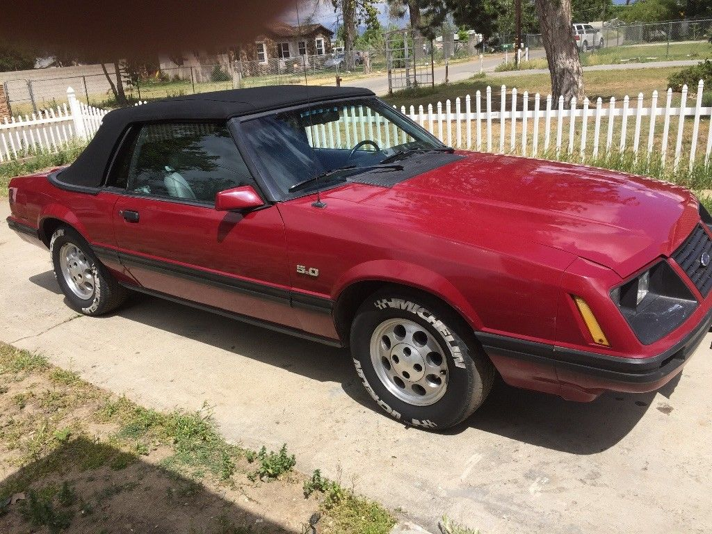 Awesome 1984 ford mustang gt 1984 ford mustang gt 5 0 convertible fox body no reserve nr 2017 2018