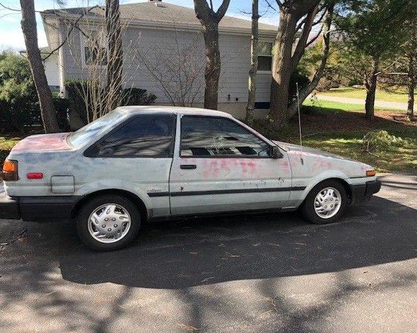 Amazing 1987 Toyota Corolla 1987 Toyota Corolla 2018 2019 Mycarboard