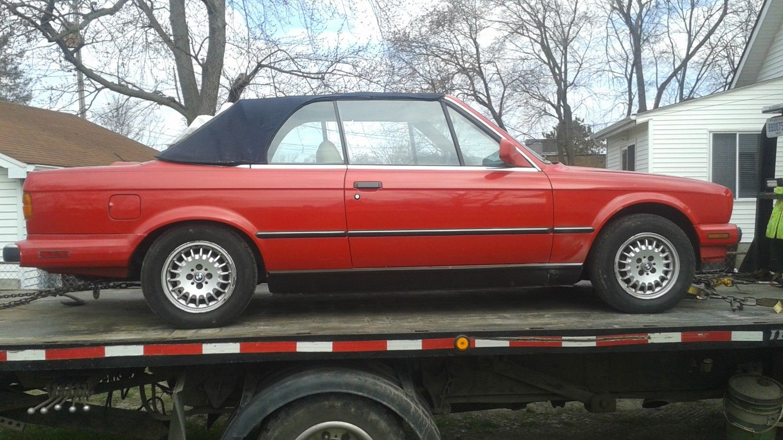 Amazing 1990 Bmw 3 Series E30 Convertible Pretty Clean Solid 325i For Restoration 2017 2018