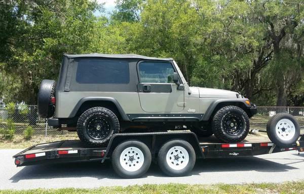 Great 2005 Jeep Wrangler Unlimited Jeep Wrangler LJ/LWB. New Parts.  2017/2018