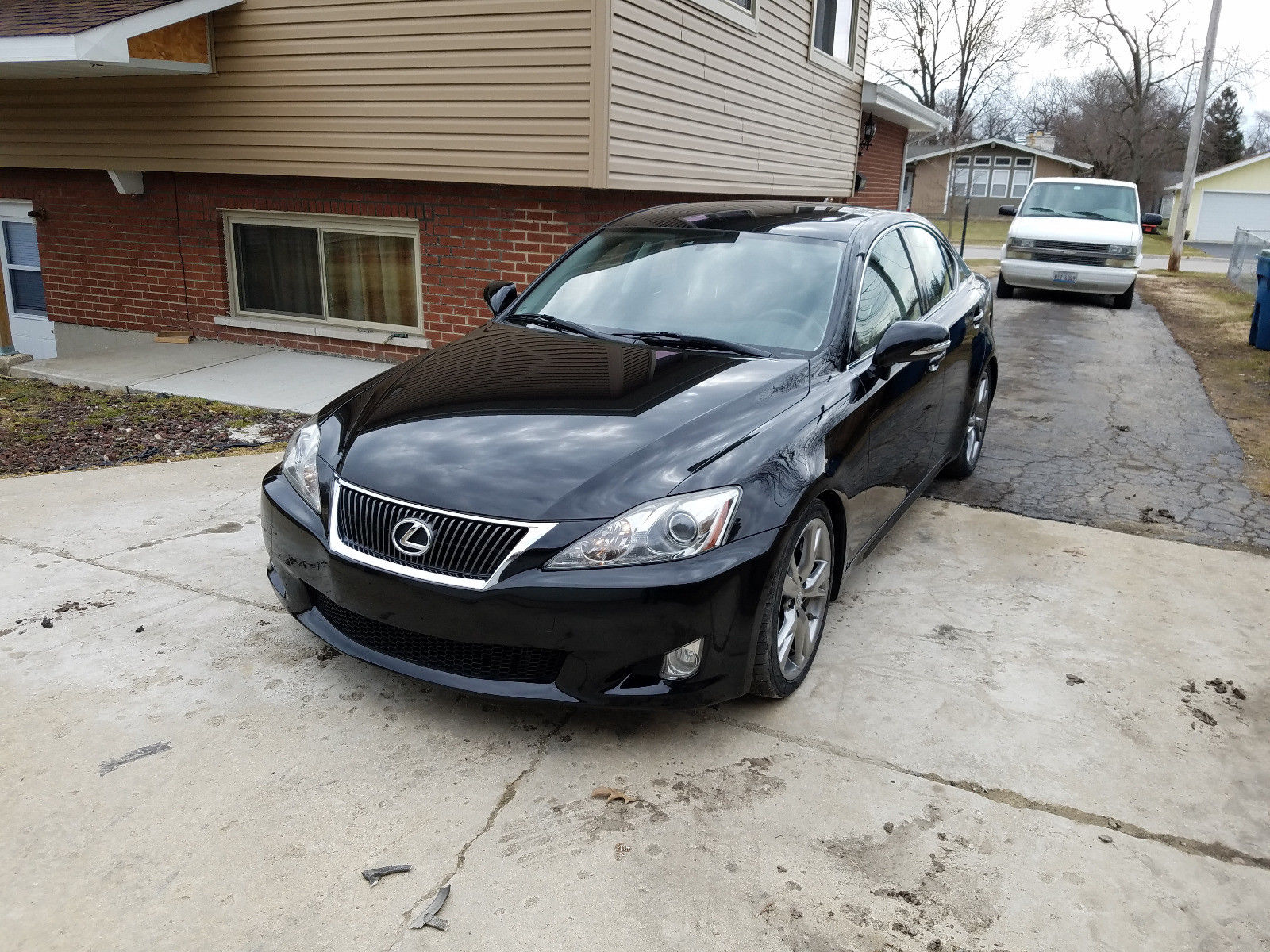 north view carfinder in is lexus sale on chicago certificate en lot salvage online copart blue left auctions il auto