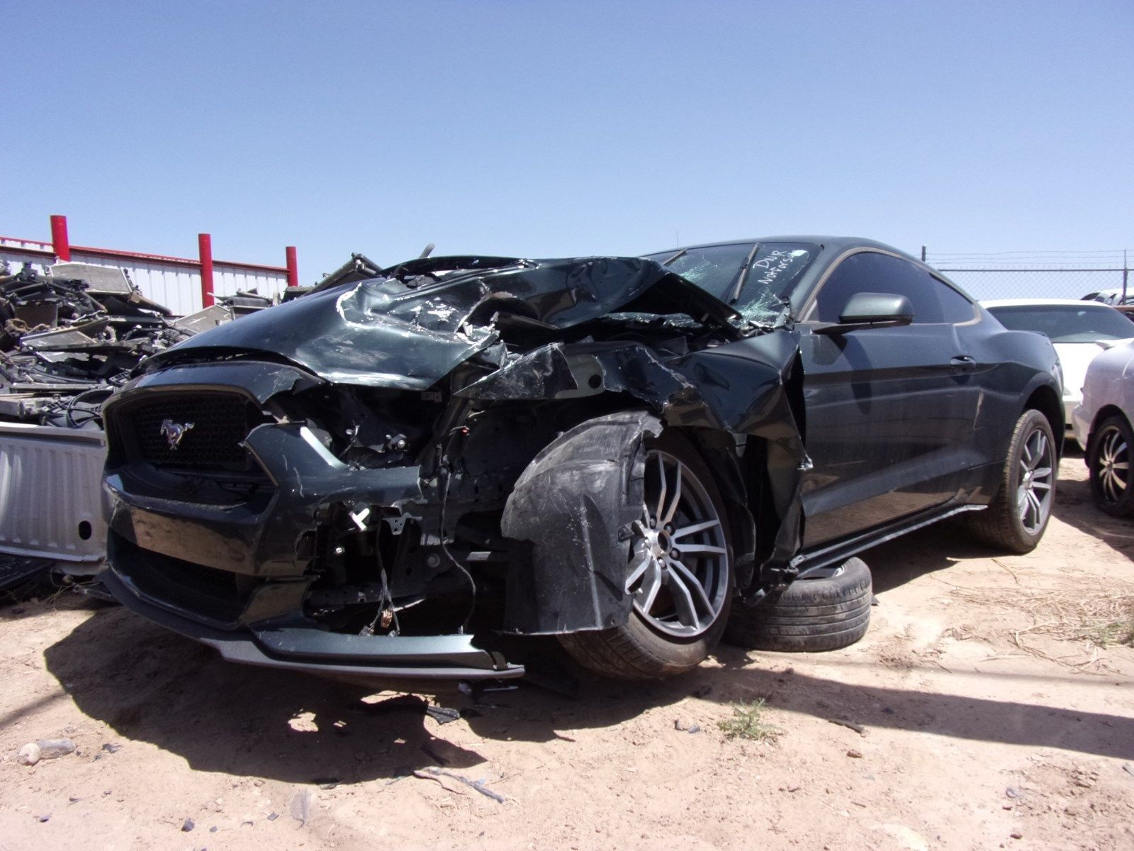 Awesome 2016 Ford Mustang Gt 5 0 Coyote Engine Complete Car Wrecked 2017 2018