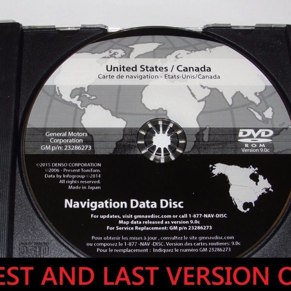 Awesome 2016 Gm North America Navigation Dvd Map Update Gm P N