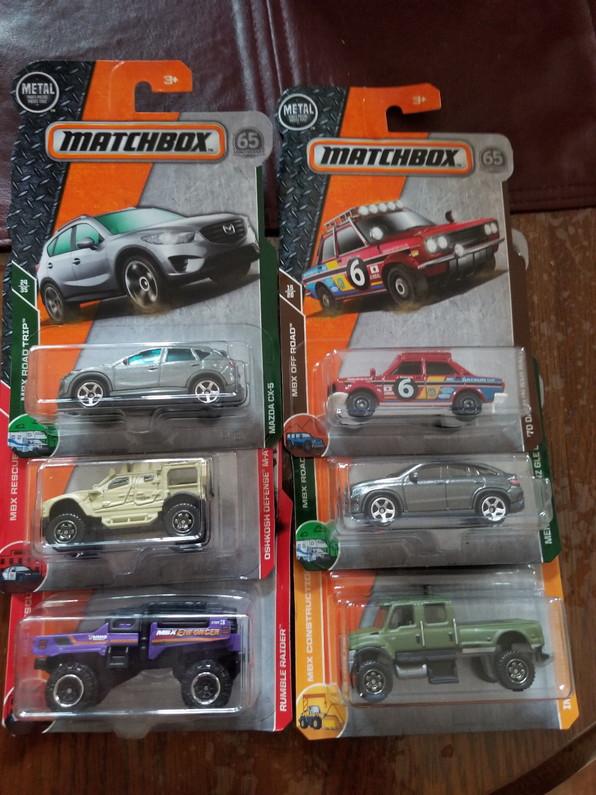 Amazing 2018 Matchbox Case F Lot of 6 Datsun 510 Army ...
