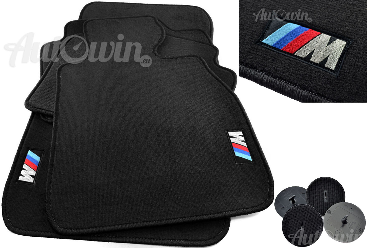 Used Bmw M Floor Mats With M Emblem Usa Vehicle Tailored 1990