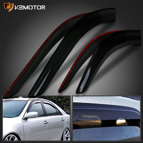 Amazing For 2002 2006 Toyota Camry Window Visors Rain