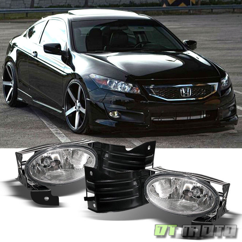 Awesome For 2008 2010 Honda Accord Coupe Driving Per Fog Lights W Switch Left Right 2017 2018
