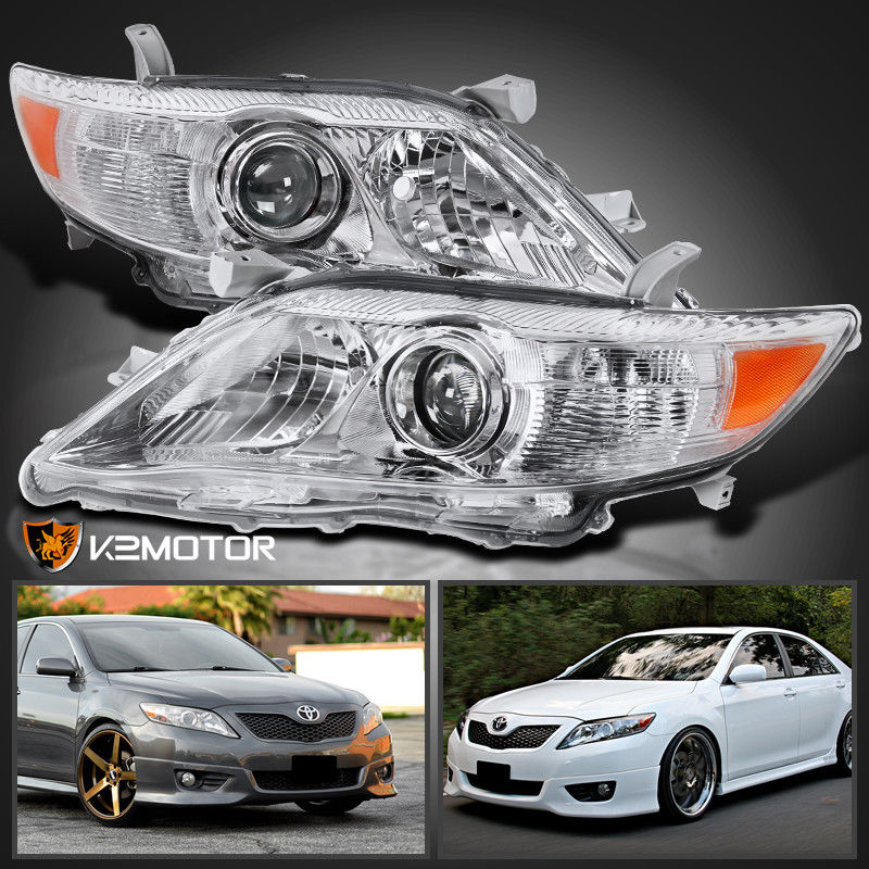 Awesome For 2010 2017 Toyota Camry Crystal Projector Headlights Left Right Replacement 2018