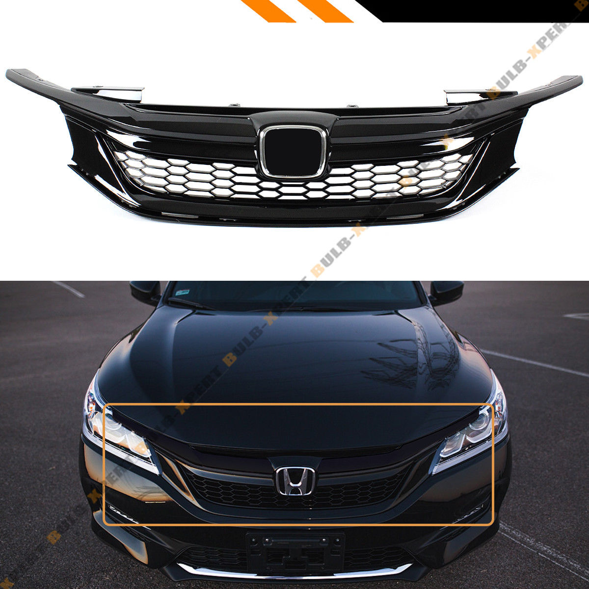 Amazing For 2016-17 9th Gen Honda Accord Sedan Gloss Black