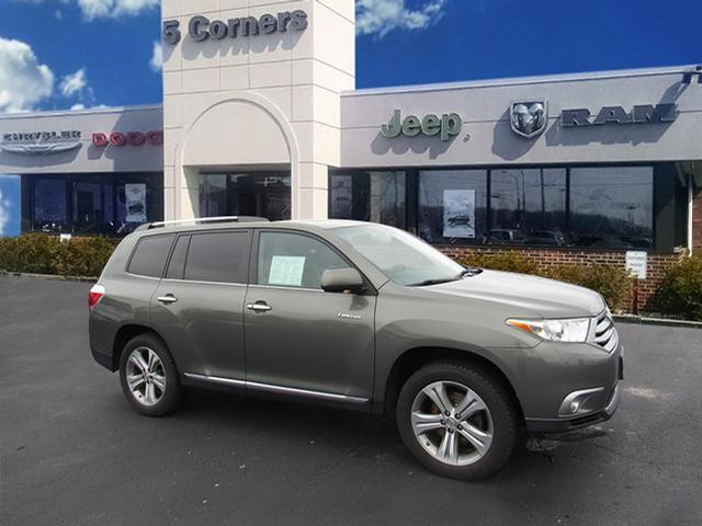 Great Highlander Limited 2017 Toyota Green With 156 736 Miles Available Now 2018 2019