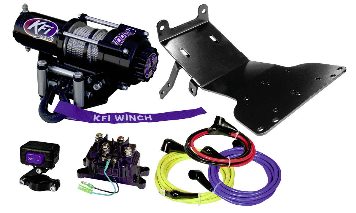 Winch Mount 2000-2007 HONDA RANCHER 350//400 100505 NEW KFI Products