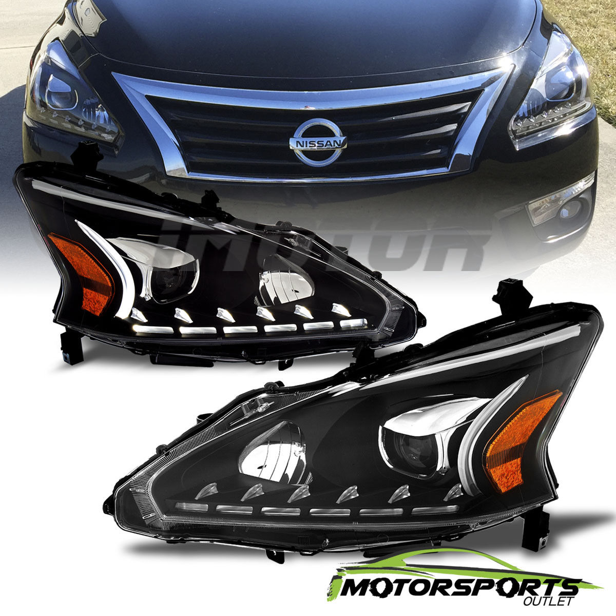 2014 nissan altima lights
