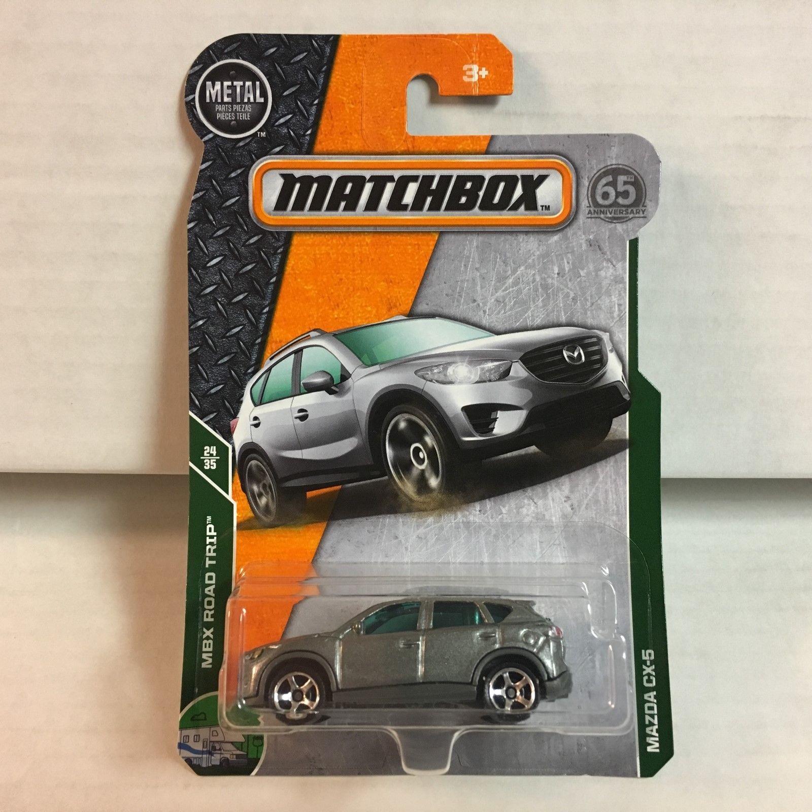 Great Mazda Cx 5 Silver 2018 Matchbox Case F G2 2018