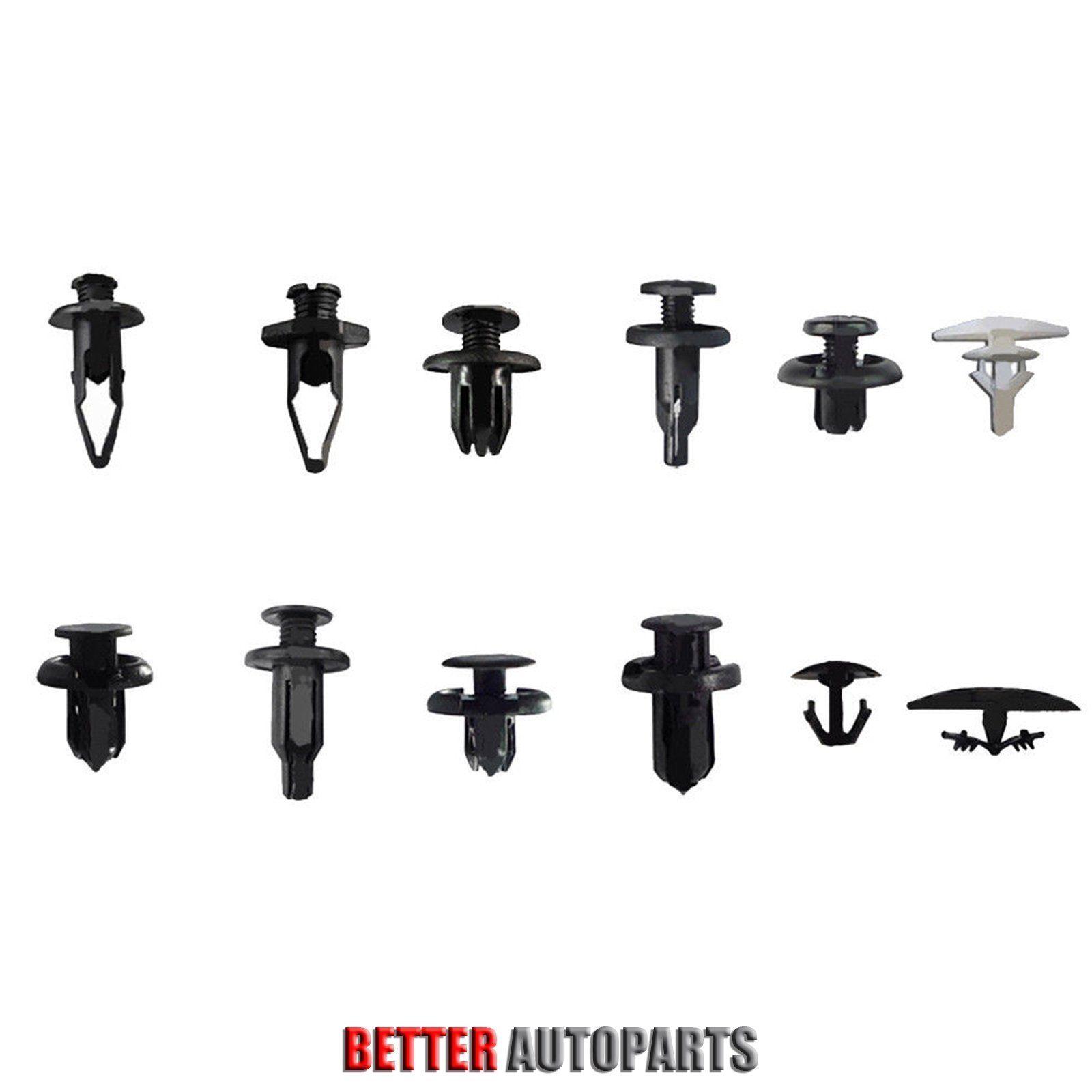 121 Pcs Clips Fender Door Hood Bumper Trim Body Retainers Assortment For Honda