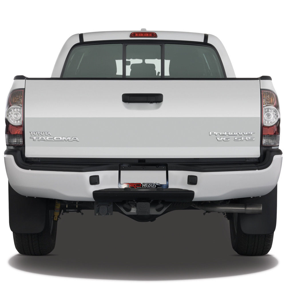 Awesome 2) TRD-License-Plate-Frame-Toyota-TRD-Offroad-Takoma-FJ ...