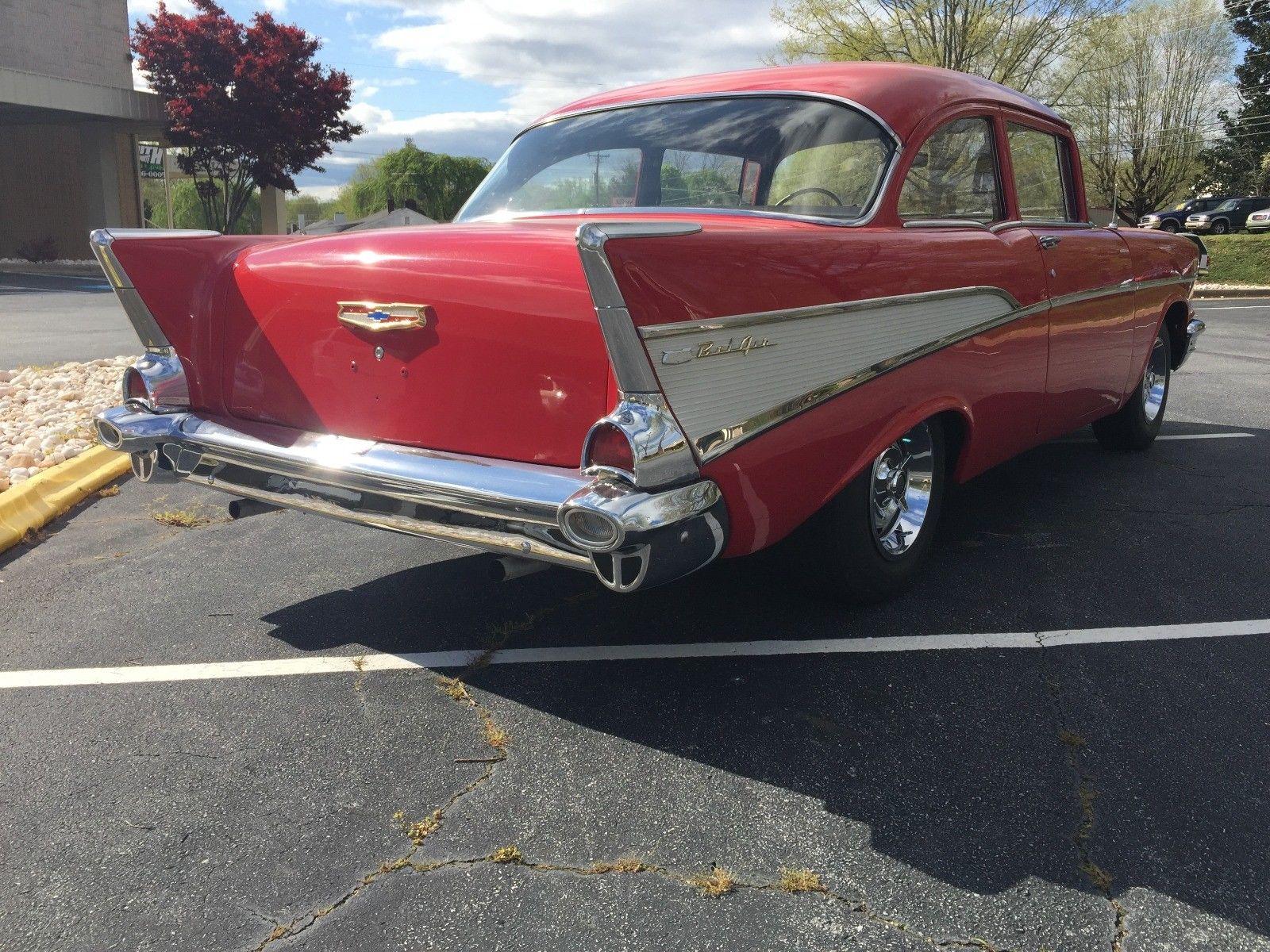 Amazing 1957 Chevrolet Bel Air 150 210 Chevy 2 Door Two Sedan Item Specifics