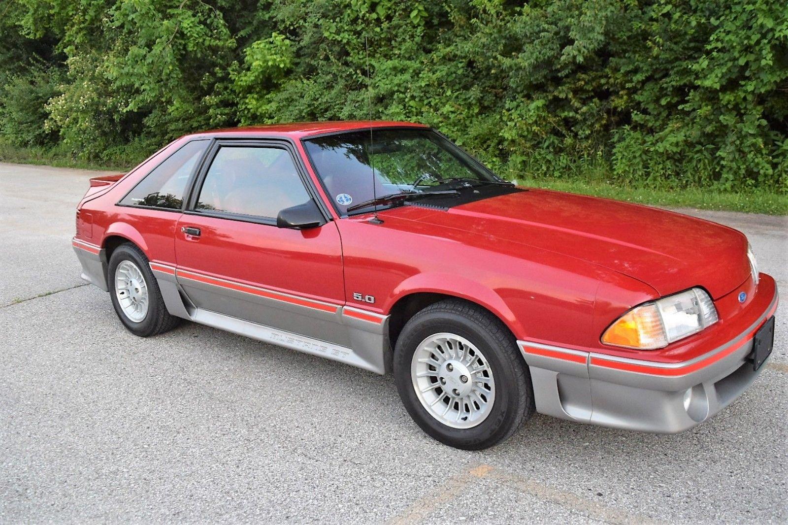 Great 1988 Ford Mustang Gt Beautiful Fox Body Survivor