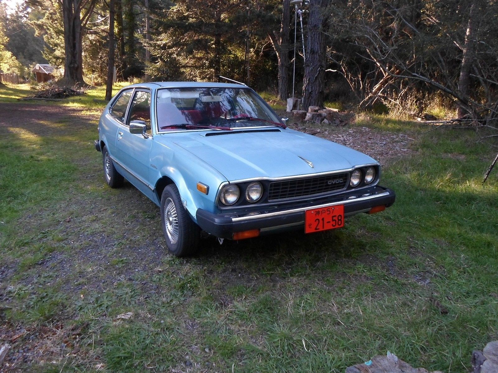 Amazing 1977 Honda Accord Rare Find 1977 Honda Cvcc 2 Door Accord