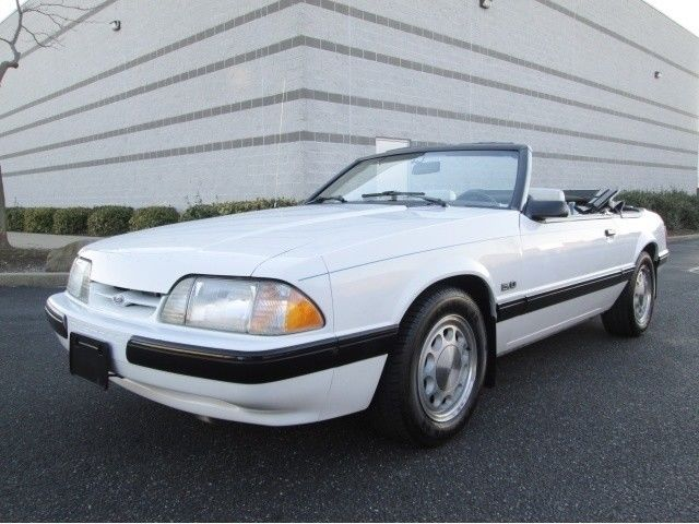 Amazing 1987 Ford Mustang Lx Convertible 5 0 Low Miles 1 Owner Rare Car Must See 2019