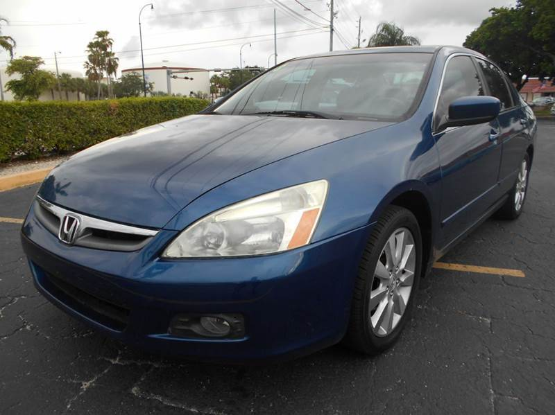 2006 Honda Accord Sedan >> Amazing 2006 Honda Accord 2006 Honda Accord Ex V 6 4dr Sedan 5a 3 0l V6 Automatic Cold Ac Florida Vehicle 2018 2019