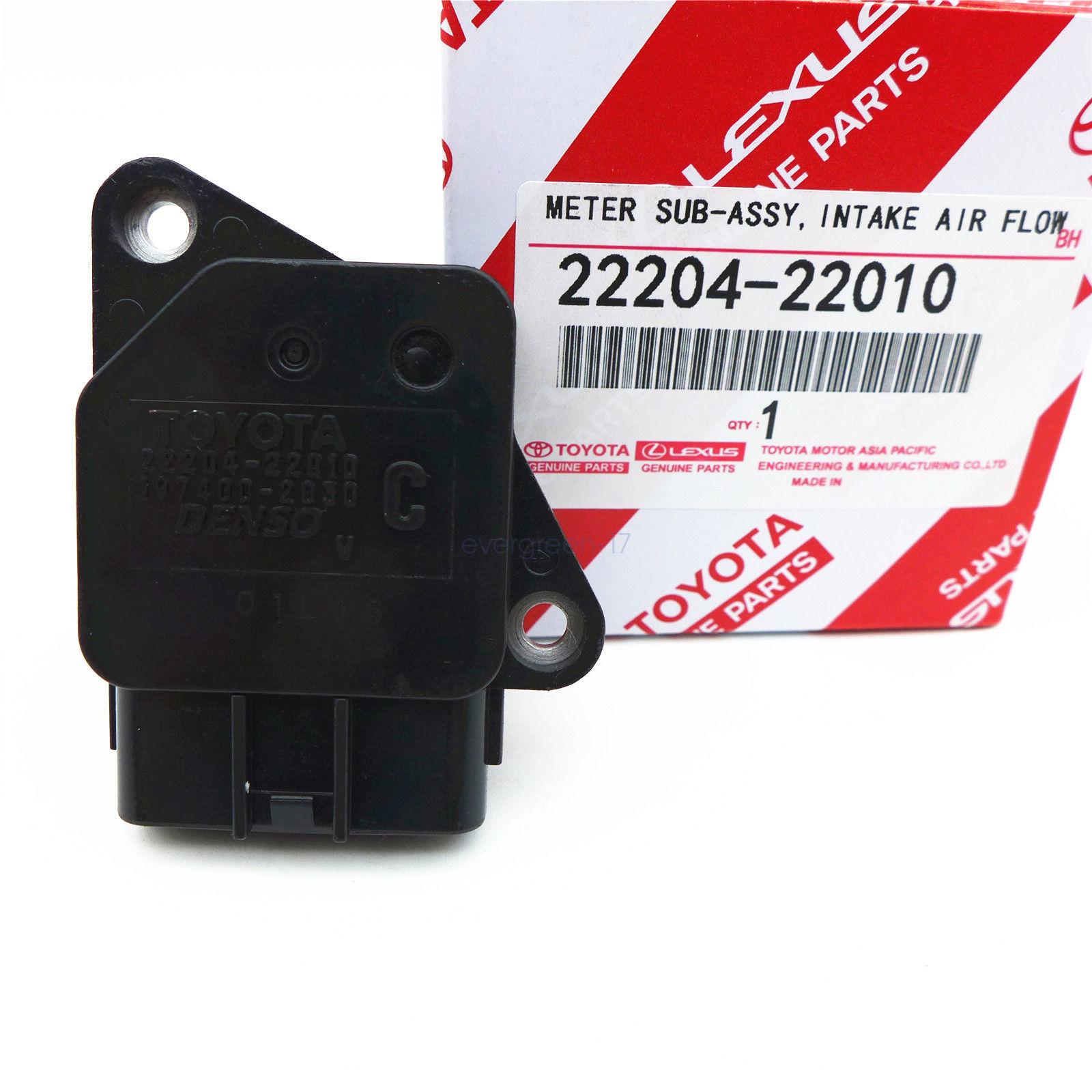 OEM Genuine Denso Mass Air Flow Meter MAF Sensor Toyota Lexus Scion 22204-22010