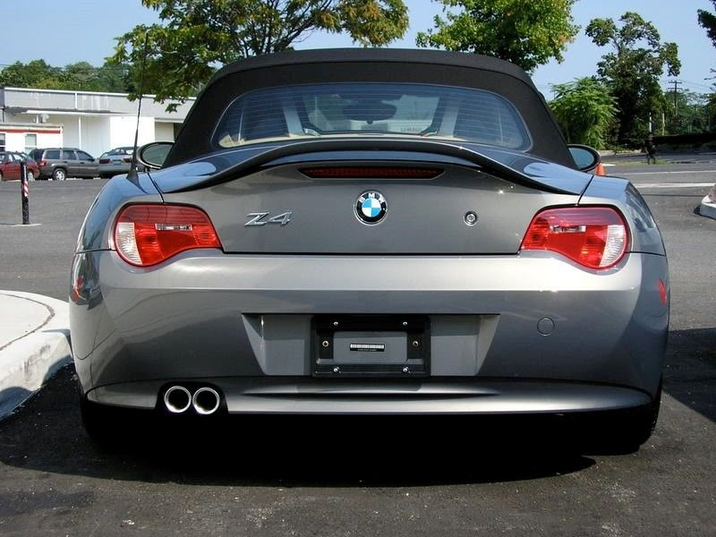 Amazing For Bmw Z4 Convertible Un Painted Grey Factory Style Rear