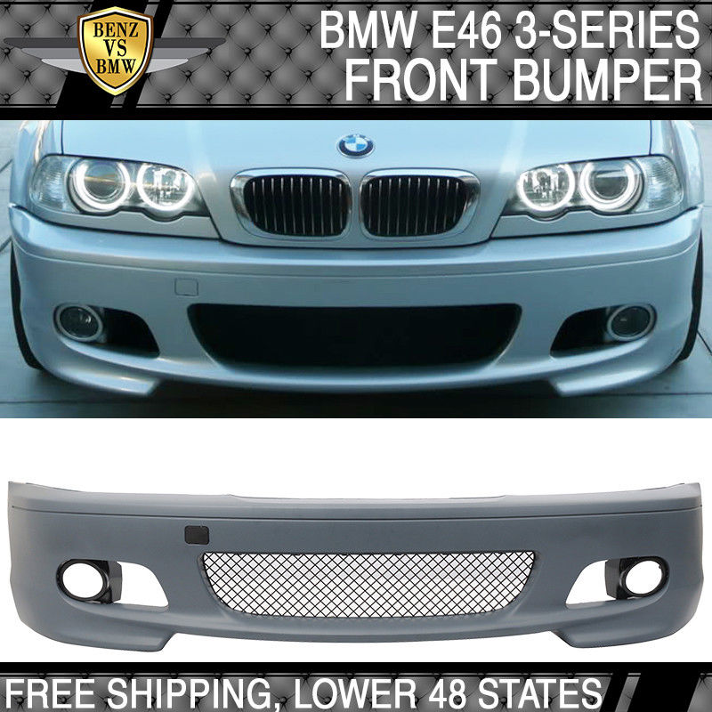 Great Fits 00 06 Bmw E46 3 Series Coupe M Tech M Sport Front Bumper Cover Guard Pp 2019