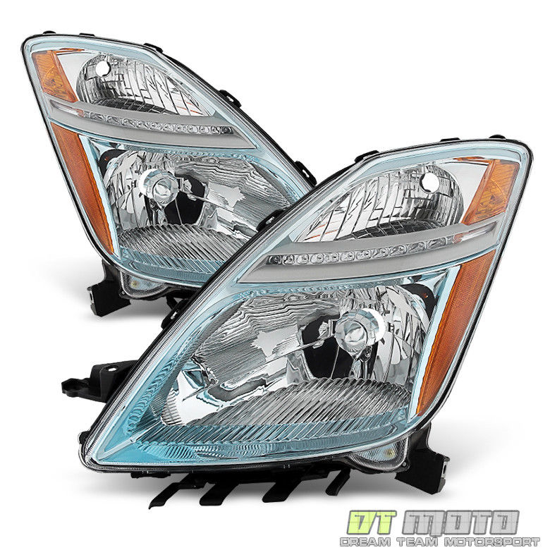Awesome For 2006 2007 2008 2009 Toyota Prius Halogen Headlights Replacement Headlamps 2019