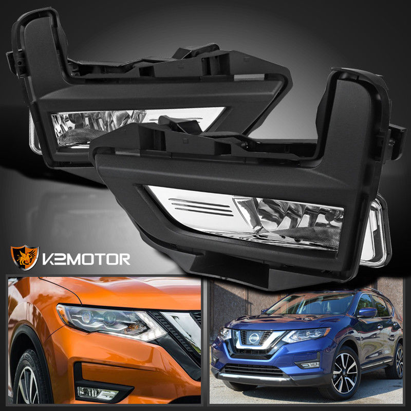 Amazing For 2017 2018 Nissan Rogue Replacement Driving Lamps Per Fog Lights Switch 2019