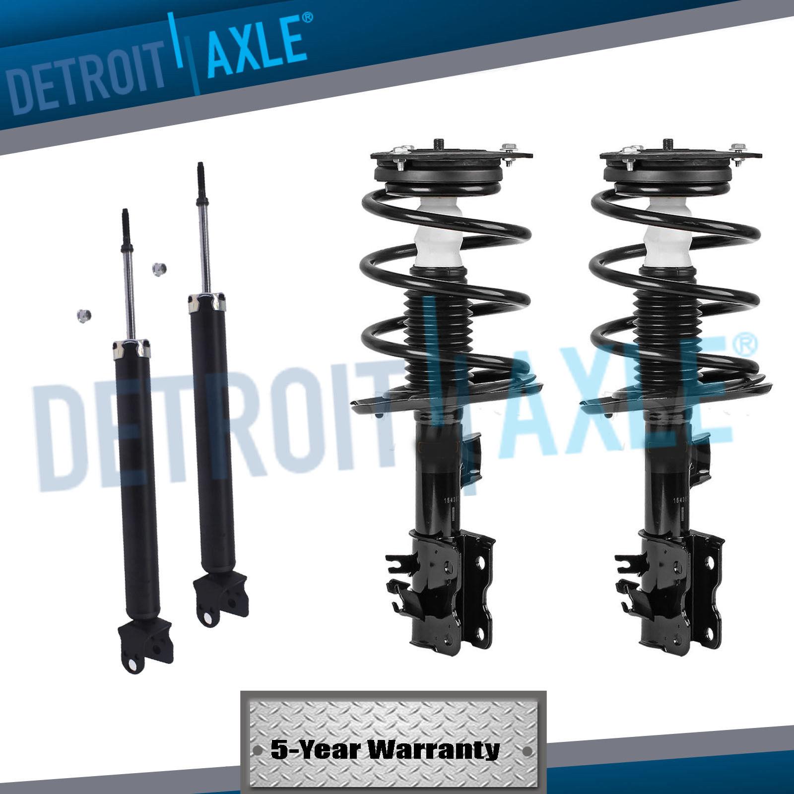 Amazing Front Strut Set Rear Shocks for 2007 2008 2009 2010 2011 2012  Nissan Altima 2 5L 2019