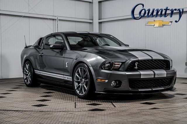 Great Mustang Shelby Gt500 2010 Ford 50 169 Miles Sterling Gray Metallic 2d Coupe 5 4l 2018 2019