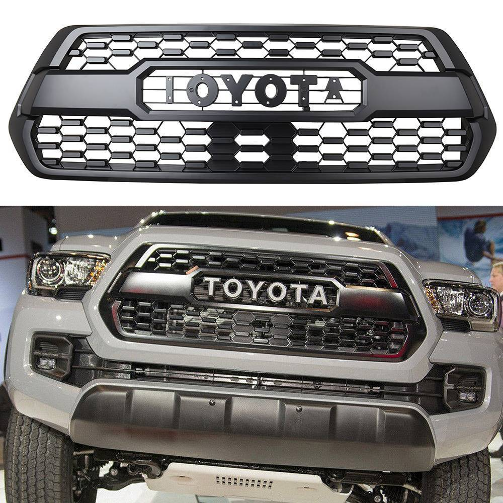 Awesome Oem Insert Pt228 35170 Grille Fit For 2016 2017 2018 Toyota Tacoma Trd Pro Grill 2019