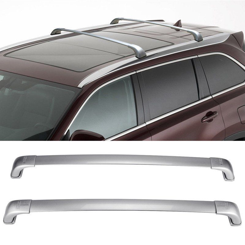 Awesome Roof Rack Cross Bars Carrier For Toyota Highlander Xle 2017 2016 2018 2019