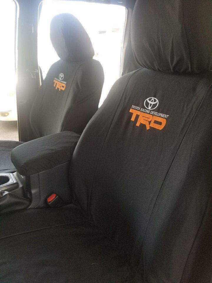 Tacoma Seat Covers >> Great Toyota Tacoma 2001 2018 Custom Seat Covers Full Set