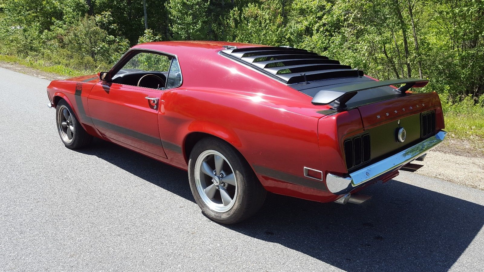 awesome  ford mustang boss ford mustang fastback boss  tribute sp  mycarboard