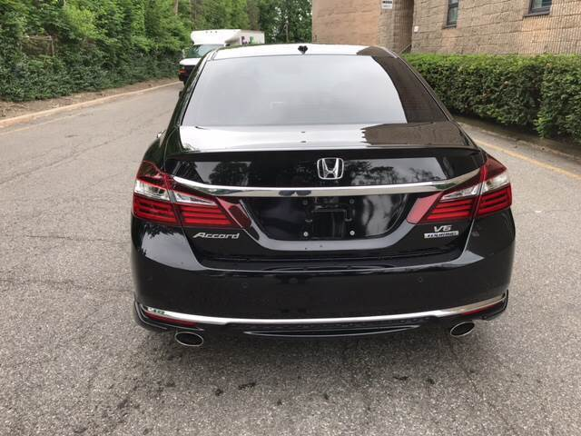 Honda Accord Sensing >> Great Accord Touring 4dr Sedan 2016 Honda Accord Touring 4dr Sedan 4287 Miles Black Sedan 3.5L ...