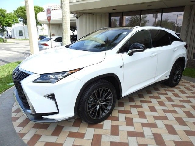 Honda Certified Used Cars >> Used 2017 Lexus RX 450h 2017 Lexus RX 450h Hybrid F Sport Panorama roof L/ Certified Low miles ...
